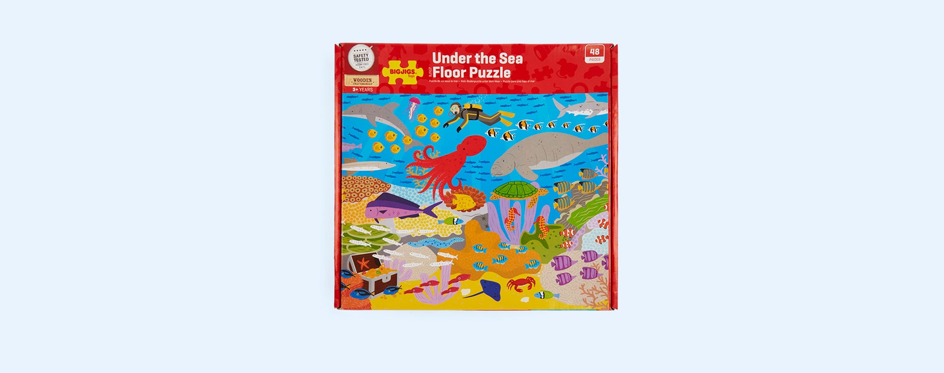 Multi Bigjigs Under the Sea Floor Puzzle (48 piece)