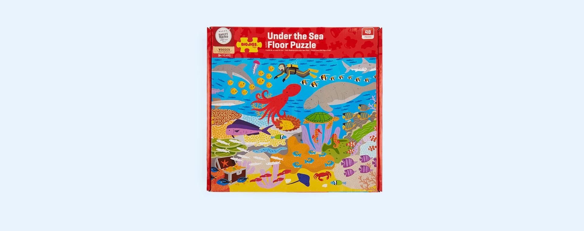 Multi Bigjigs Under the Sea Floor Puzzle (48 piece)