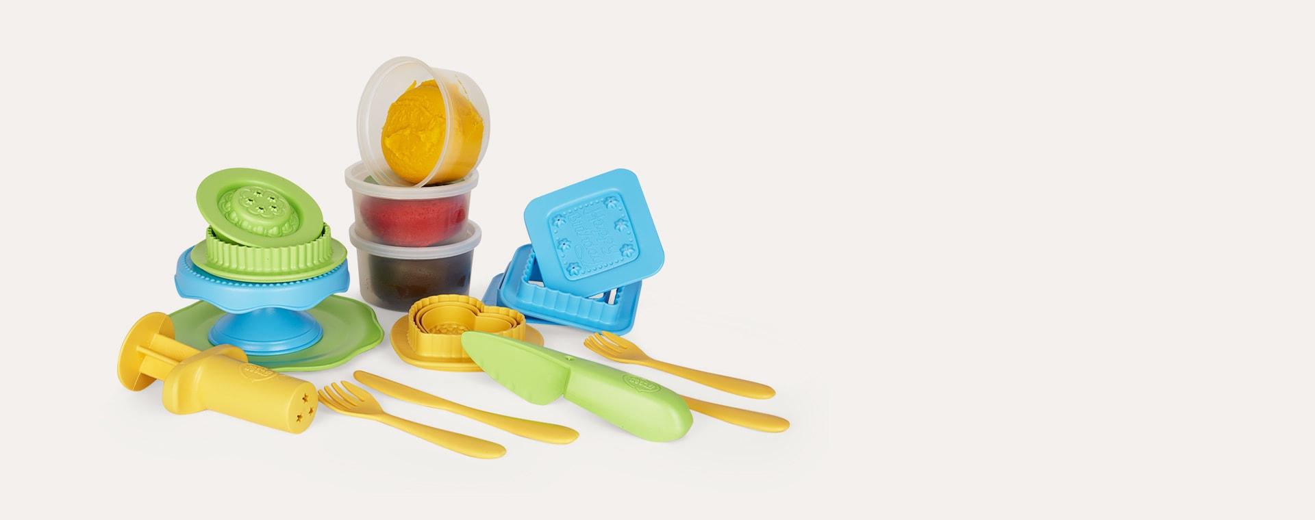 Multi Green Toys Cake Maker Dough Set