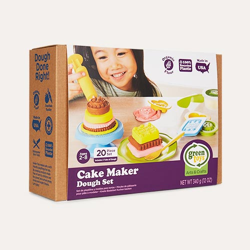 Multi Green Toys Cake Maker Dough Set