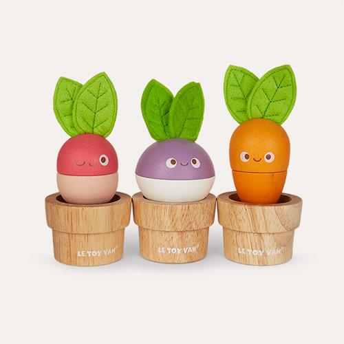 Multi Le Toy Van Stacking Veggies