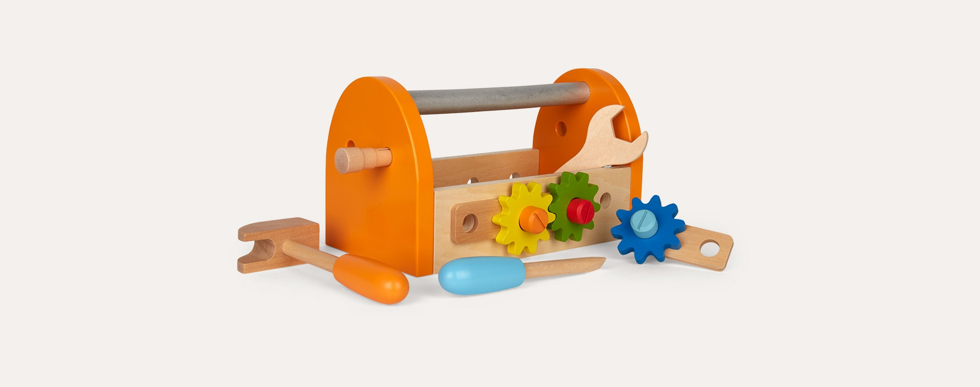 Neutral Classic World Carpenter Tool Box