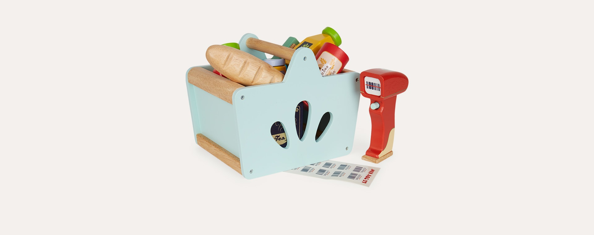 Multi Le Toy Van Groceries Set & Scanner