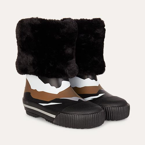 Mountain Boxbo Fur Boot