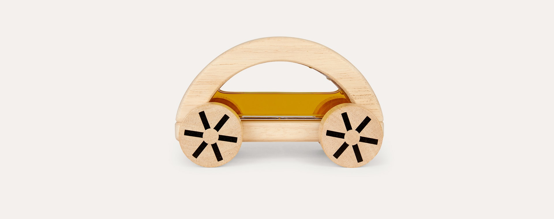 Yellow Plan Toys Wautomobile