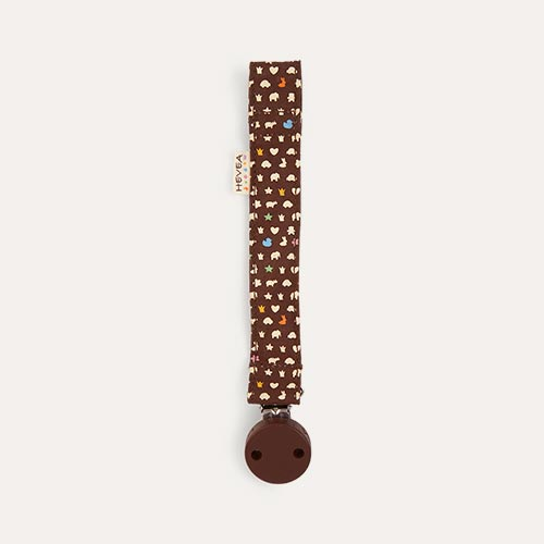 Brown Hevea Pacifier Holder