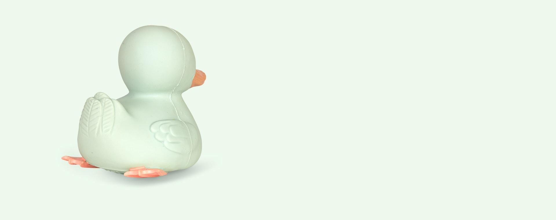 Dusty Mint Hevea Kawan Mini Rubber Duck