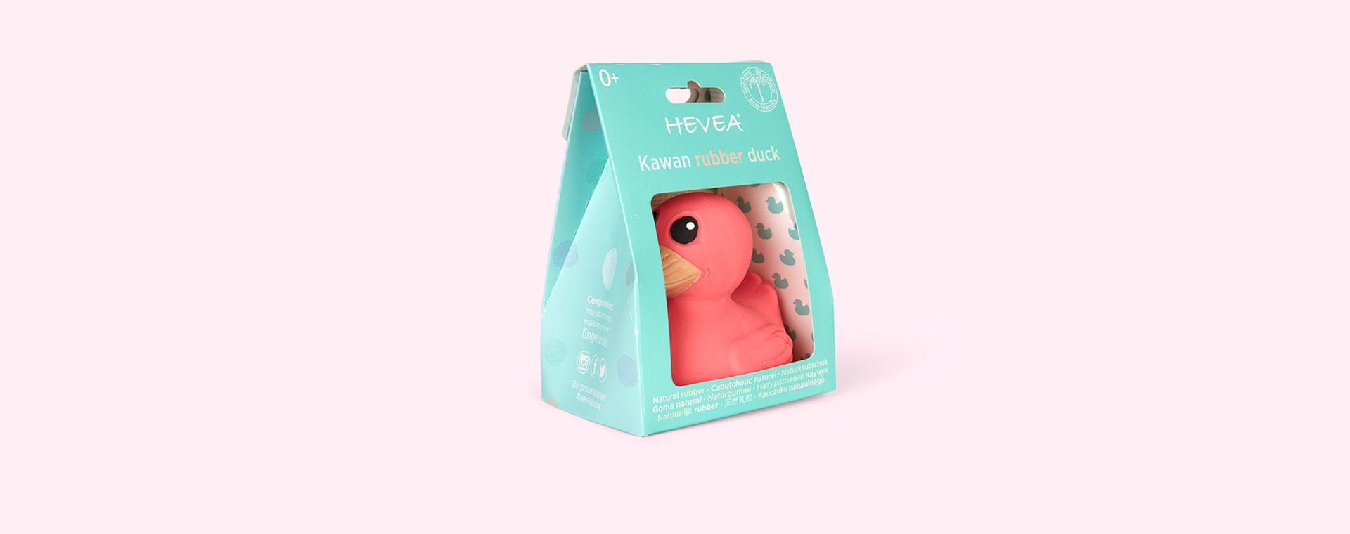 Powerful Pink Hevea Kawan Mini Rubber Duck