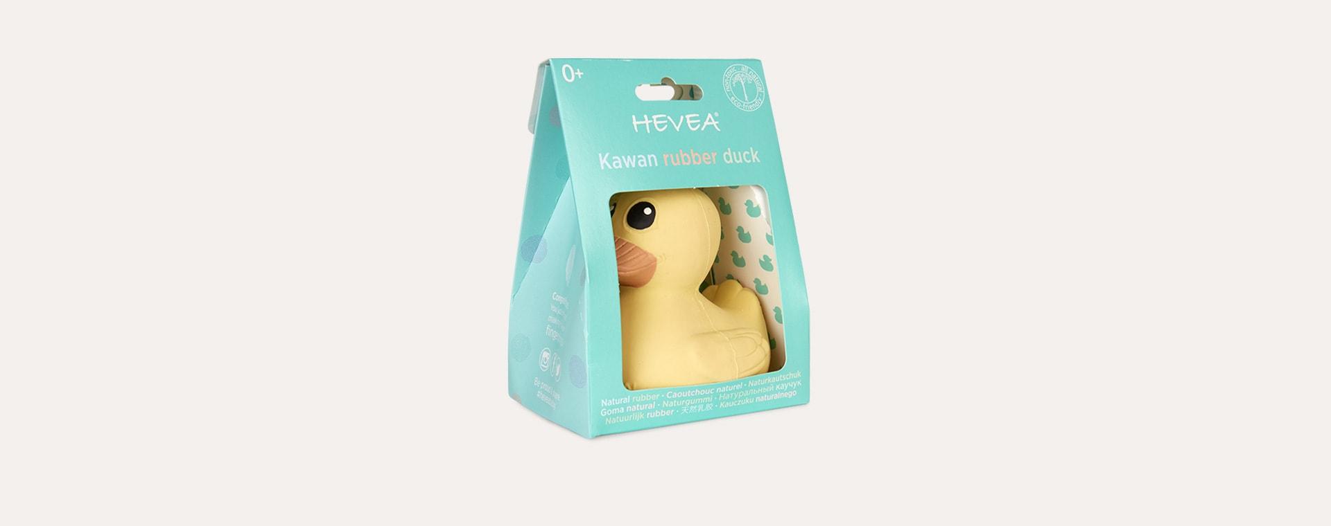 Eggnog Yellow Hevea Kawan Mini Rubber Duck