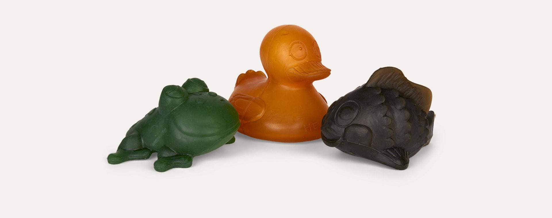 Multi Hevea The Pond Trio Bath Toys