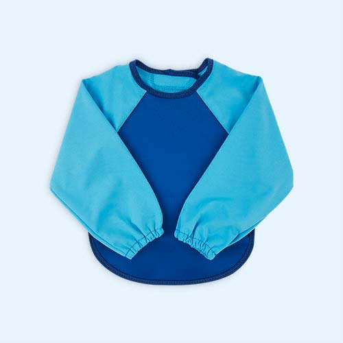 Blue/Blue Bibetta Ultra Bib with Sleeves