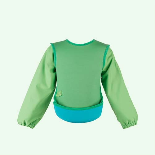 Green Bibetta Ultra Bib with Sleeves