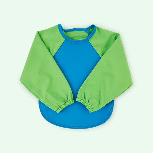 Green/Turquoise Bibetta Ultra Bib with Sleeves