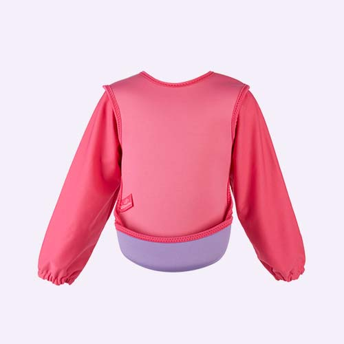 Pink Bibetta Ultra Bib with Sleeves