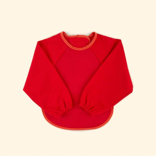 Red/Orange Bibetta Ultra Bib with Sleeves