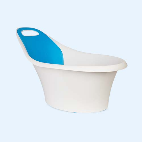 Blue Munchkin Sit & Soak Dual-Stage Bath Tub