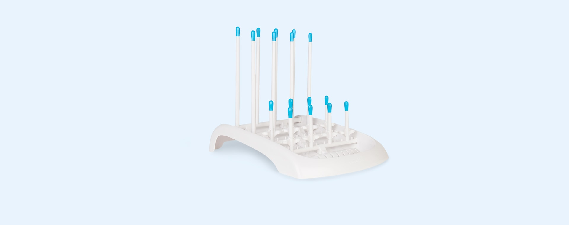 White Munchkin Folding Bottle Drying Rack