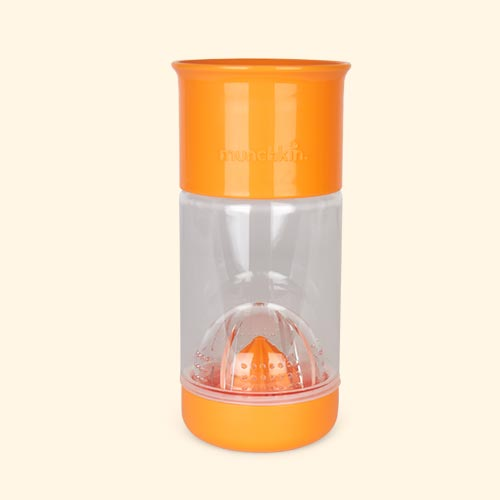 Orange Munchkin Miracle 360 Fruit Infuser Cup