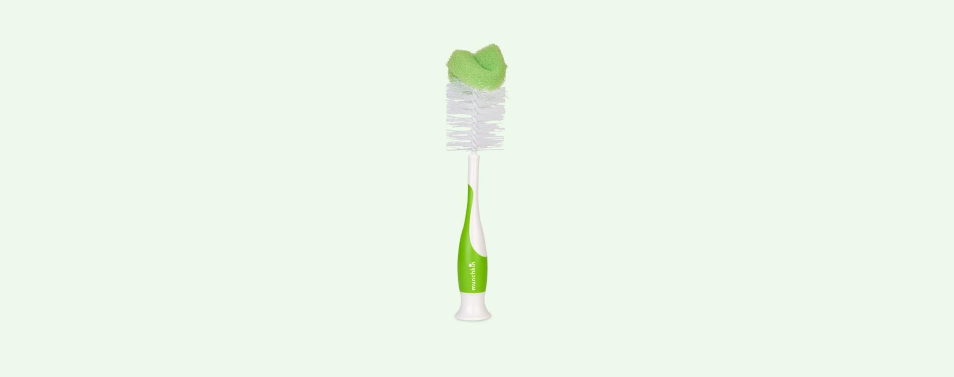 Green Munchkin Bottle and Teat Brush