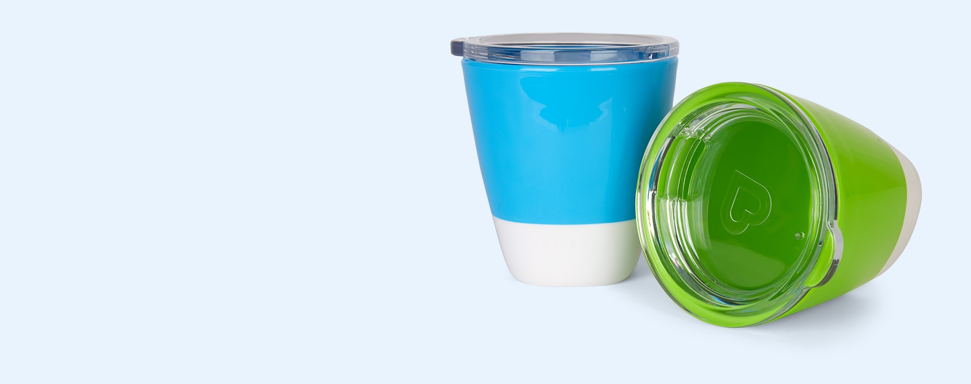 Blue/Green Munchkin Splash Toddler Cup