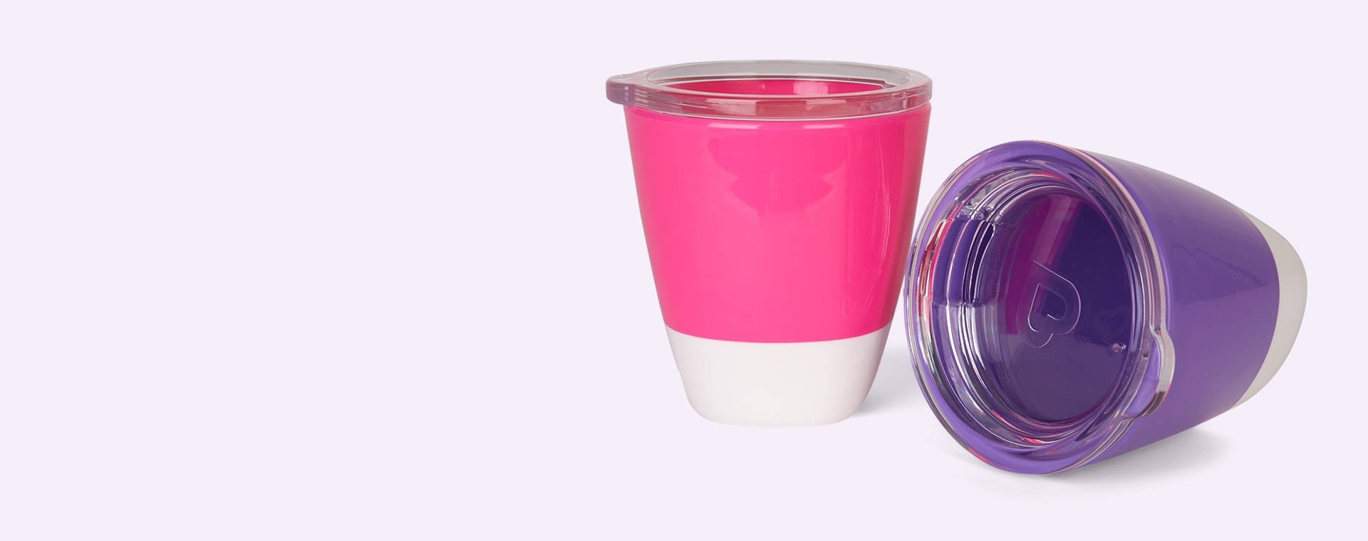 Purple/Pink Munchkin Splash Toddler Cup