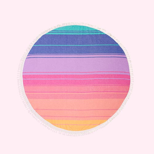 Multi Sunnylife Round Towel
