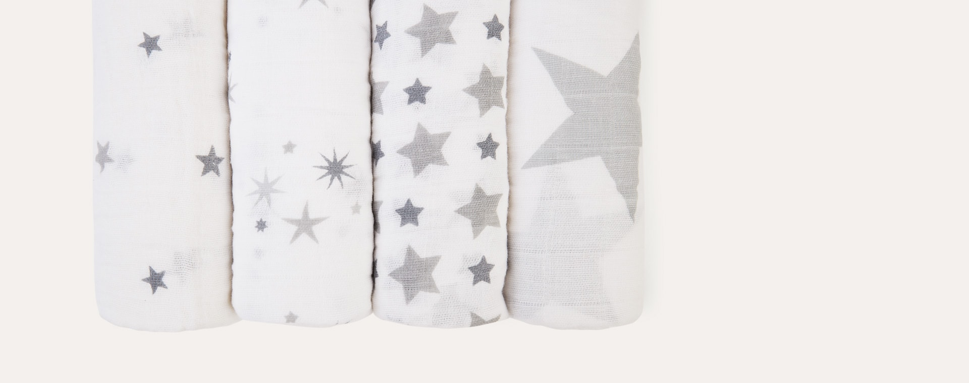 Twinkle aden + anais Classic Cotton Swaddle - 4 Pack