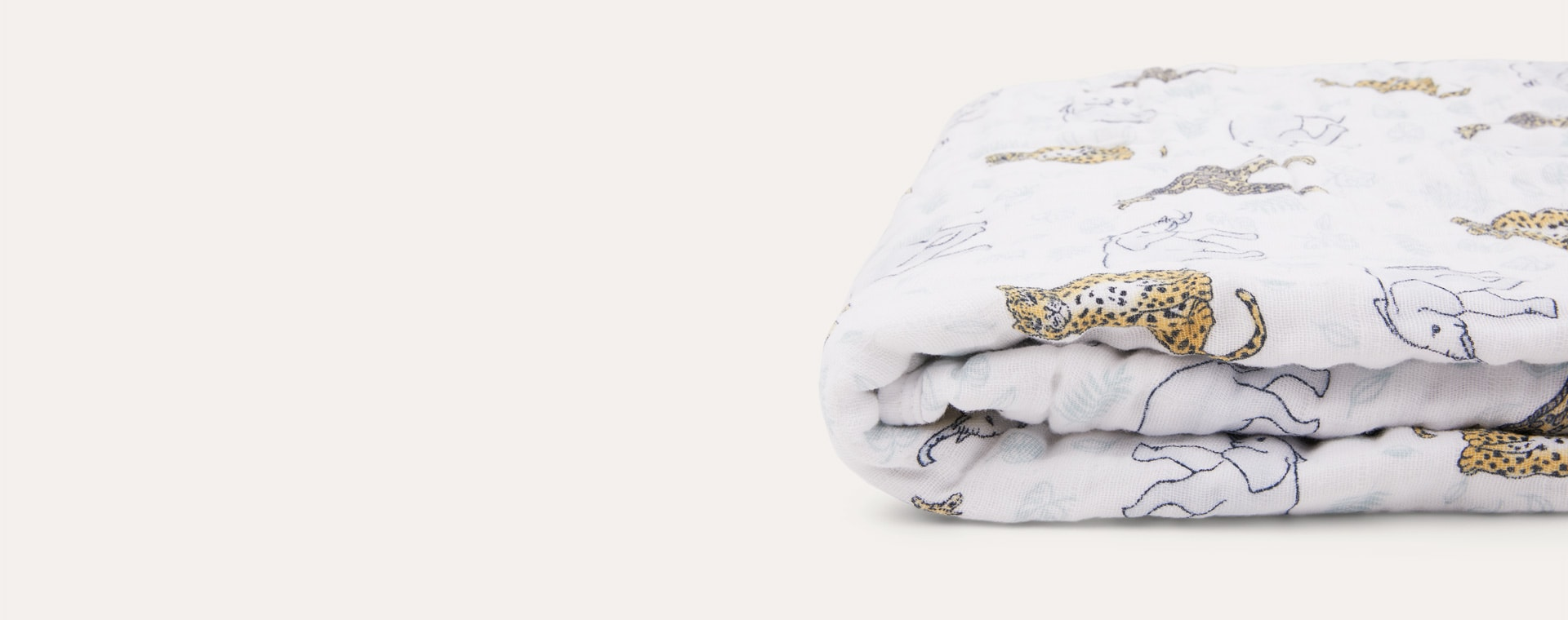 Jungle aden + anais Classic Cotton Dream Blanket