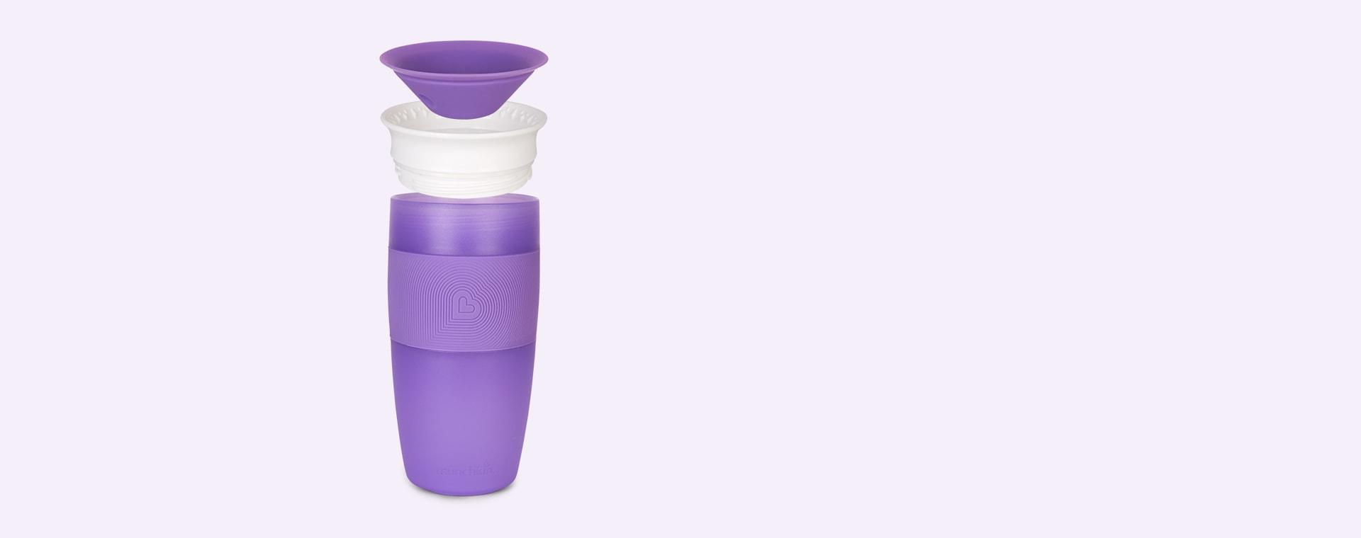 Purple Munchkin Miracle 360 Cup 14oz