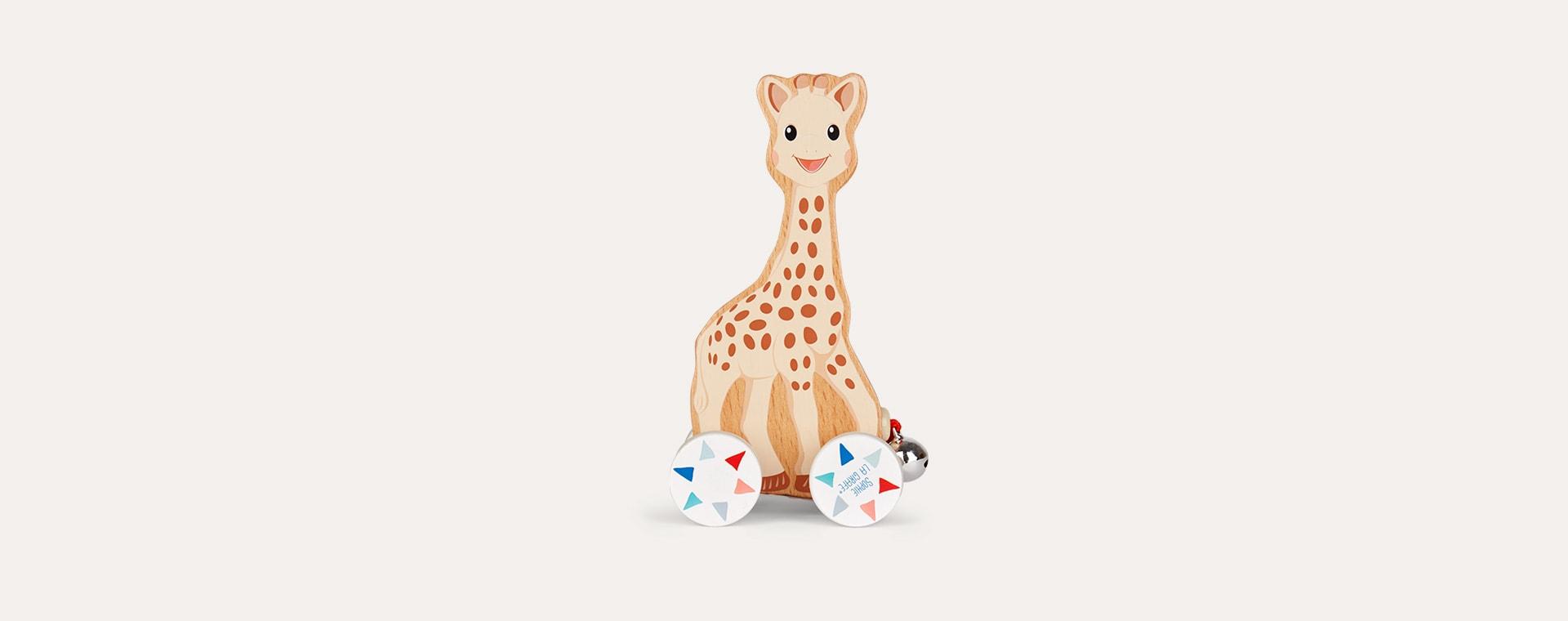 Neutral Janod Sophie la girafe Pull-Along Toy