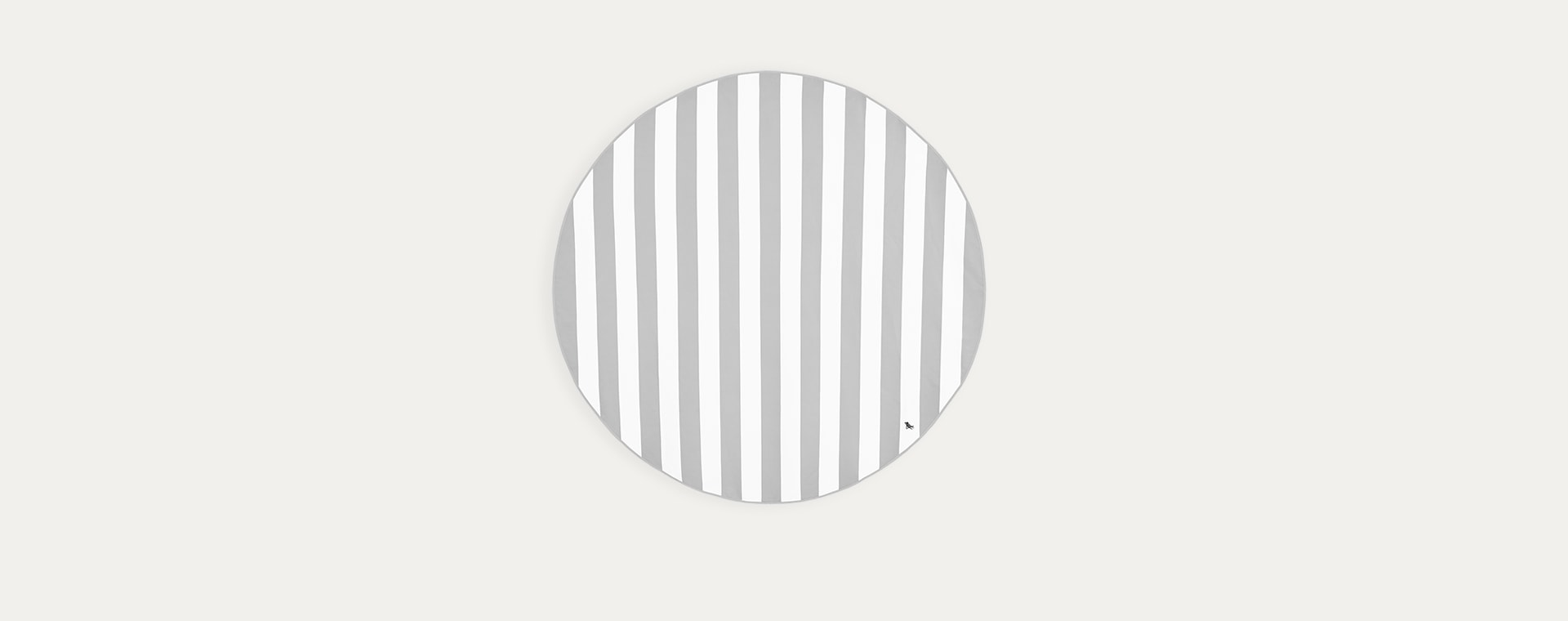 Grey Dock & Bay Round Towel