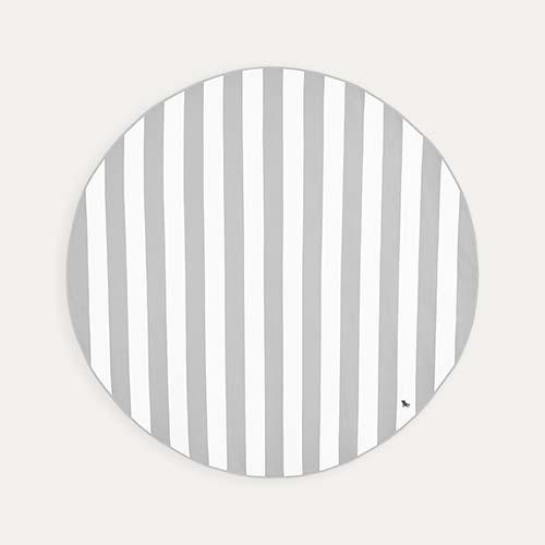 Grey Dock & Bay Round Towel