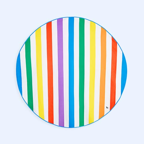 Rainbow Skies Dock & Bay Round Towel