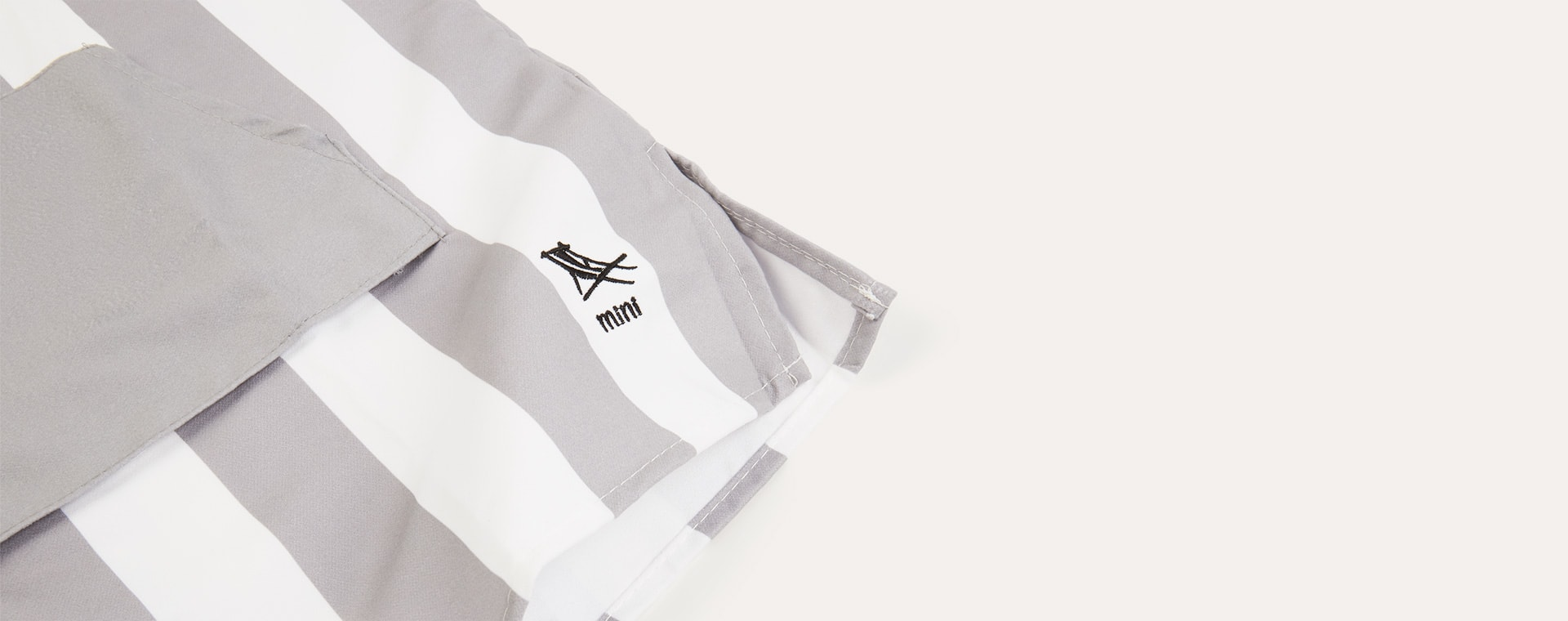 Goa Grey Dock & Bay Poncho Towel