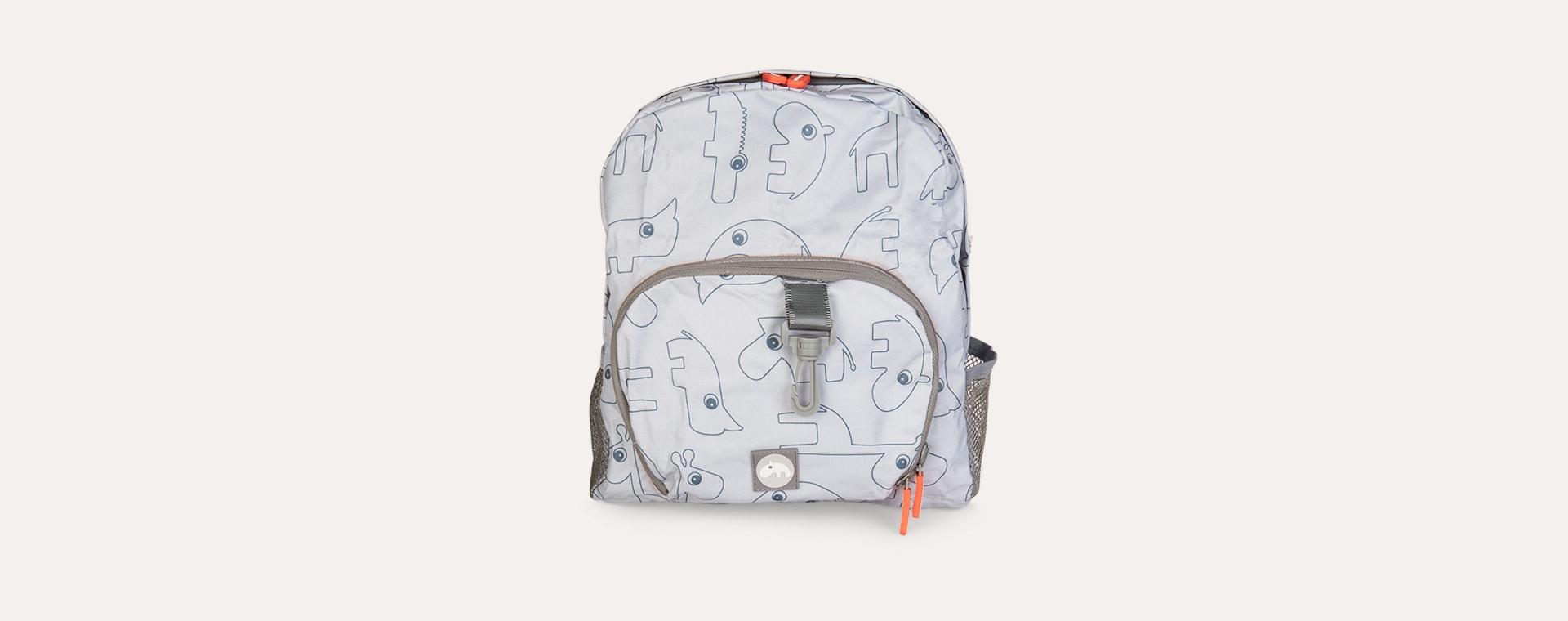 Grey Done By Deer Backpack