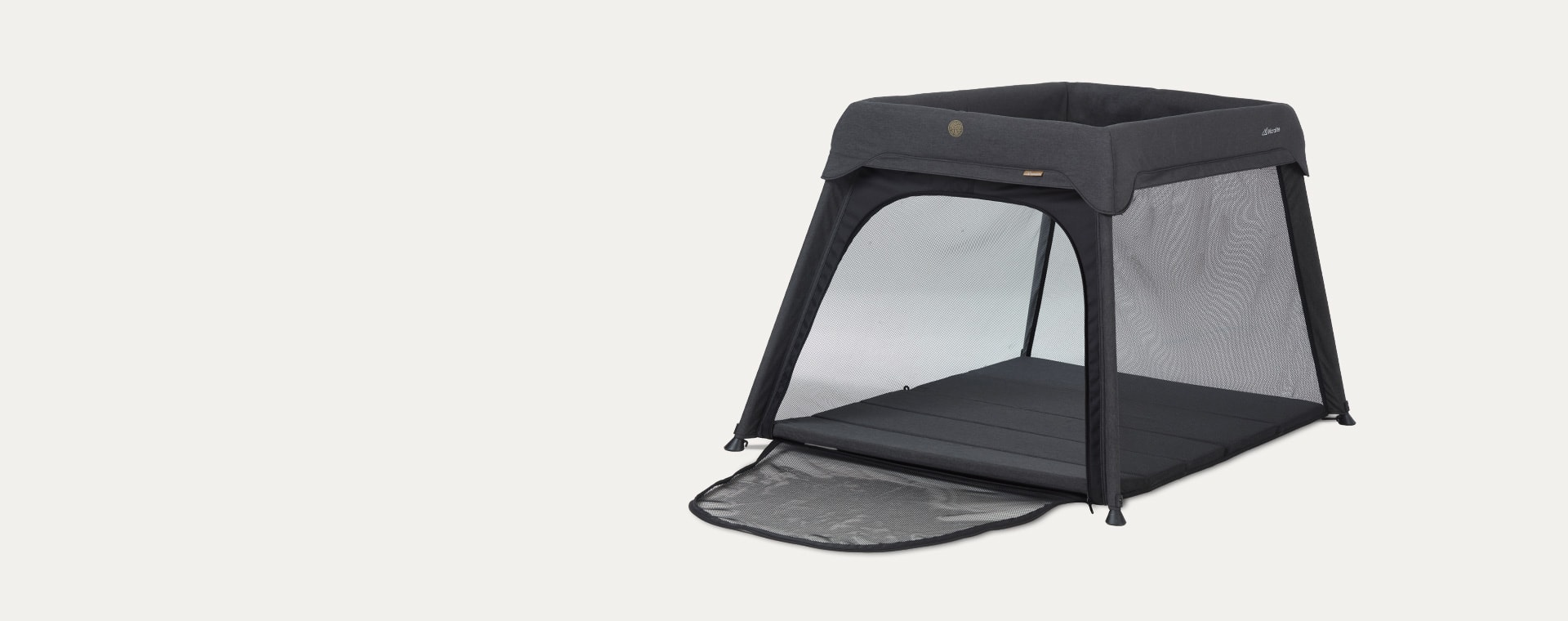 Black Micralite Sleep & Go Travel Cot
