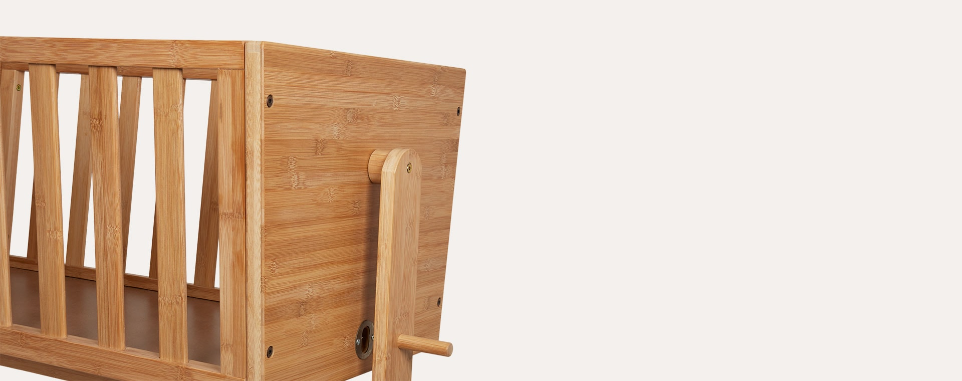 Neutral Kid's Concept Bamboo Cradle