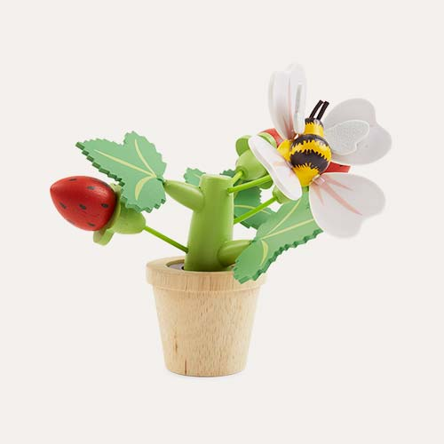 Multi Tender Leaf Toys Strawberry Flower Pot