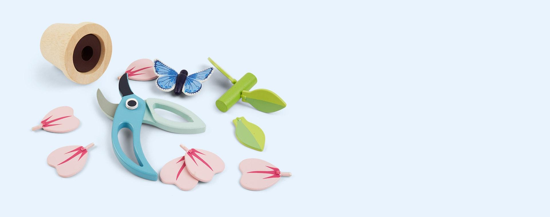 Multi Tender Leaf Toys Blossom Flowerpot Set