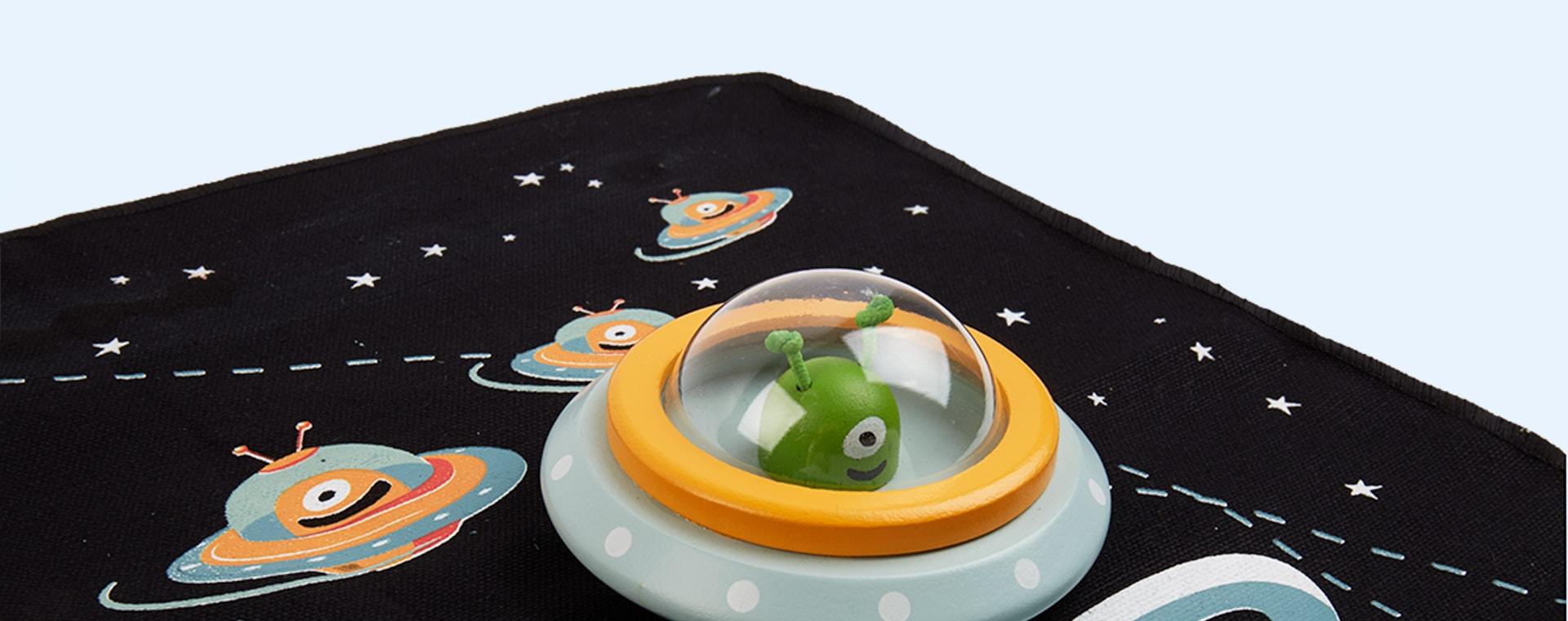 Black Tender Leaf Toys Space Adventure Playmat