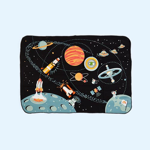 Black Tender Leaf Toys Space Adventure Playmat
