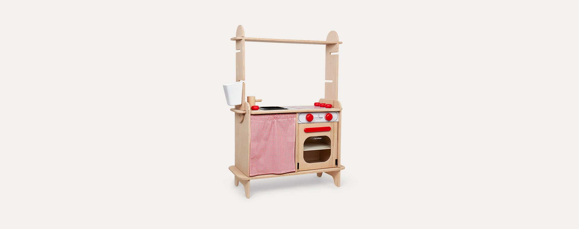 Neutral Mamatoyz Sera Wooden Kitchen