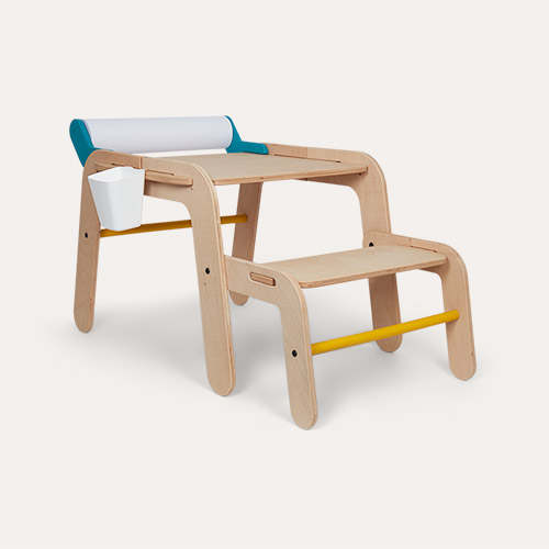Neutral Mamatoyz Medium Masa Desk & Bench