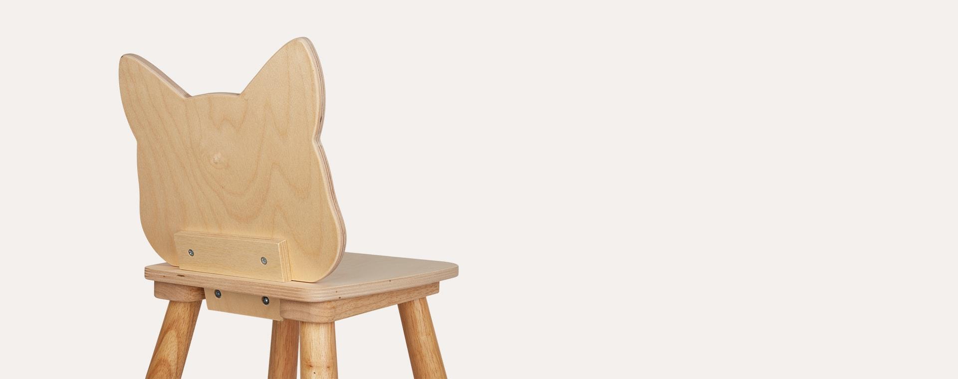 Fox Tender Leaf Toys Forest Chair