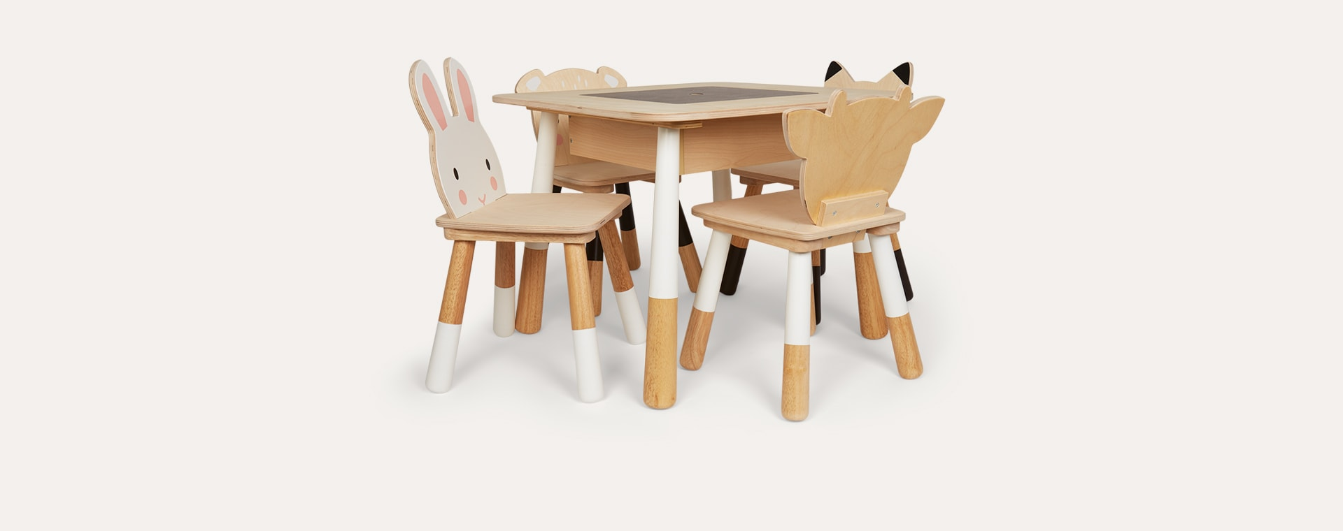 White Tender Leaf Toys Forest Table