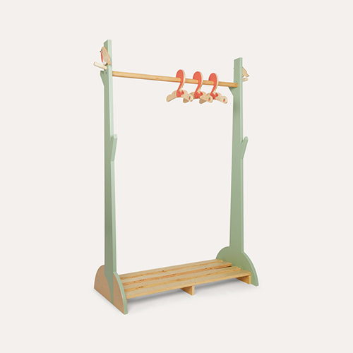 Green Tender Leaf Toys Forest Clothes Rail