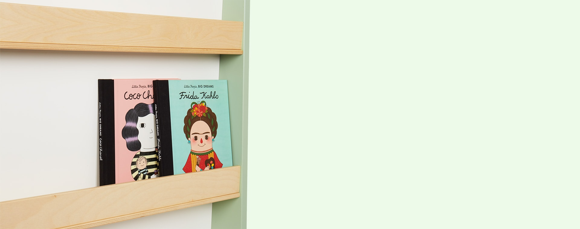 Green Tender Leaf Toys Forest Book Shelf