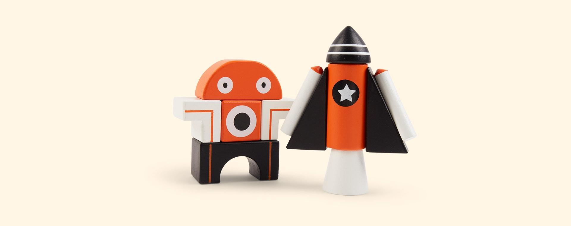 Orange Tender Leaf Toys Galaxy Magblocs
