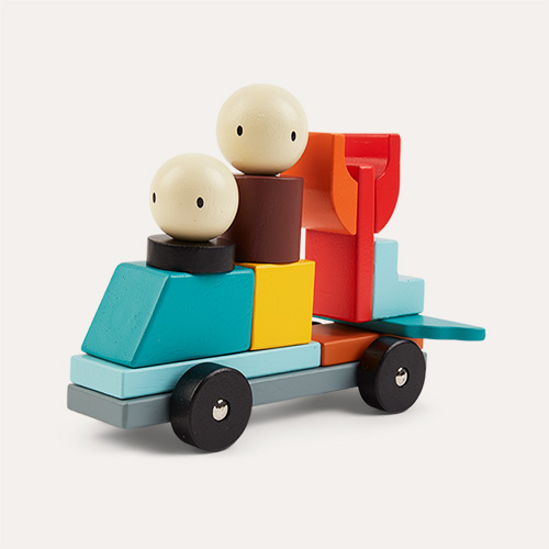 Multi Tender Leaf Toys Racing Magblocs