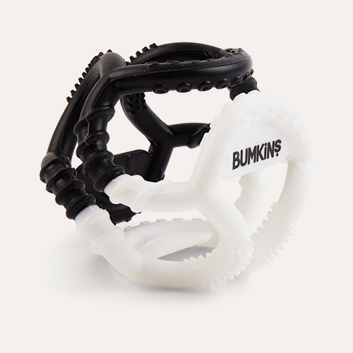 Monochrome Bumkins Silicone Sensory Teether